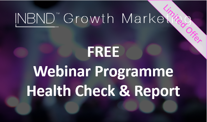 Webinar Programme Health Check