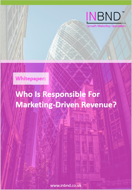 Whitepaper - Who is responsible for marketing-driven revenue
