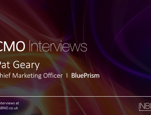 CMO interview with Pat Geary (BluePrism)