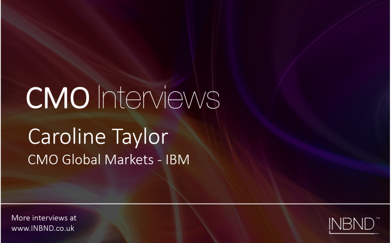 Interview with Caroline Taylor IBM