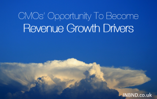 CMOs' Opportunity To Become Revenue Growth Drivers - INBND