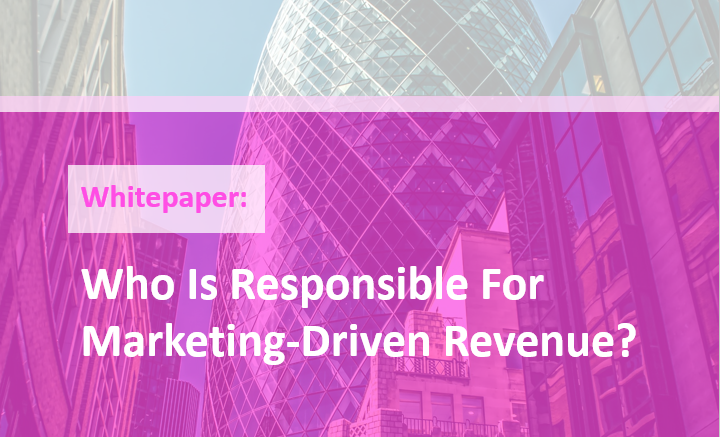 Who is responsible for marketing-driven revenue?