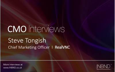 CMO Interview with Steve Tongish