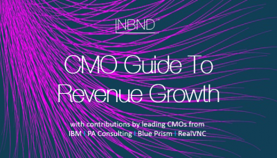 CMO Guide To Revenue Growth - pre-register at INBND