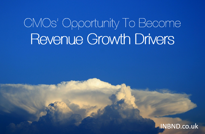 CMOs' Opportunity To Become Revenue Growth Drivers